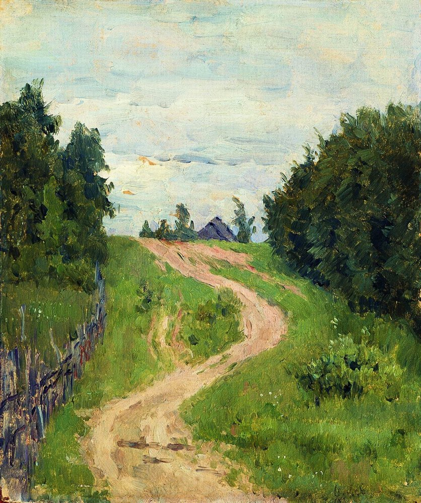手绘油画定制:欧式风景油画